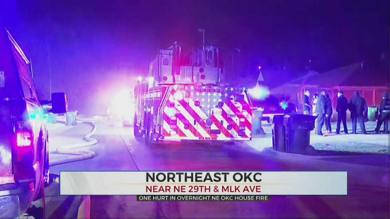 Woman Recovers From Smoke Inhalation After NE OKC House Fire