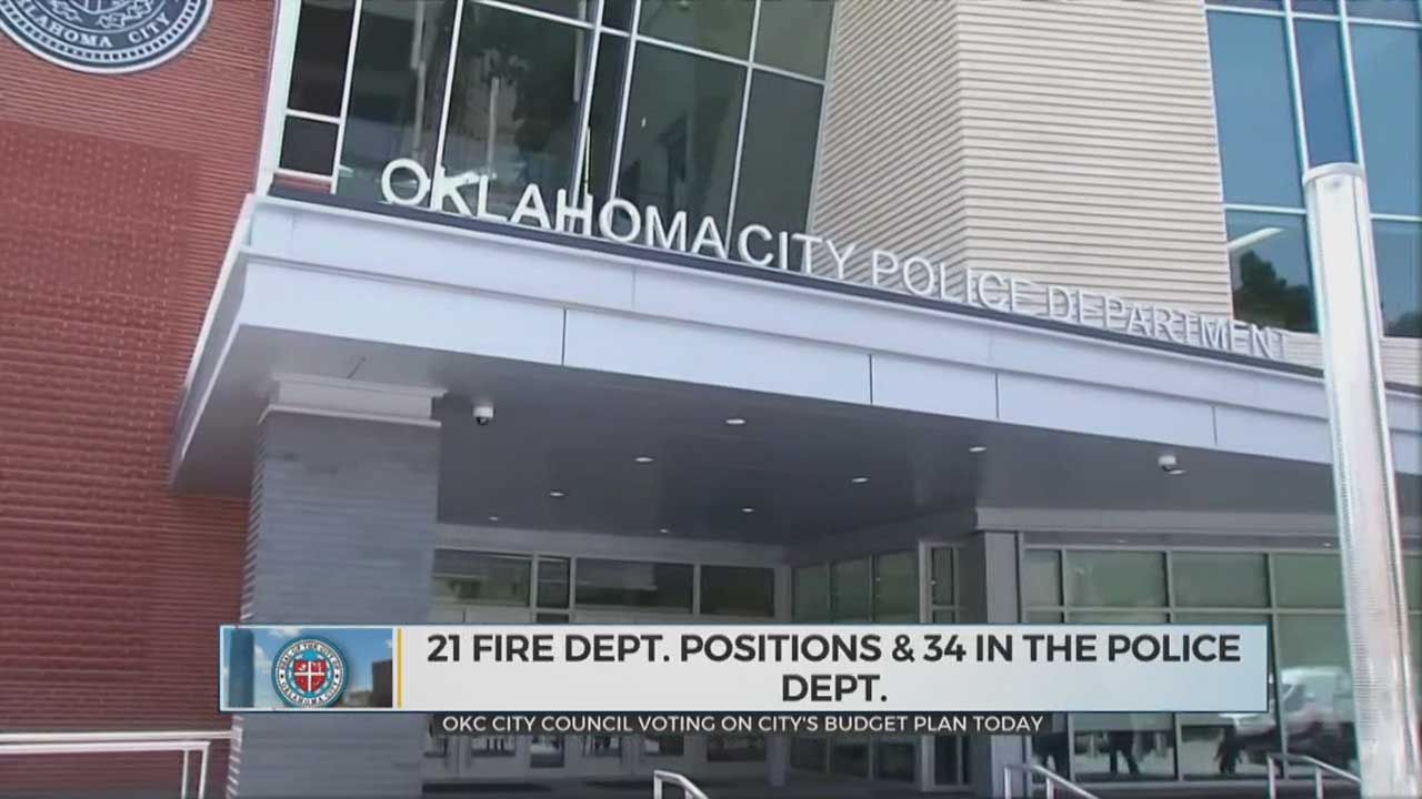 OKC's City Council To Vote On City's Budget Plan During Tuesday's Meeting
