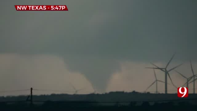 WATCH | News 9 Storm Trackers' Tornado Footage From April 23, 2021