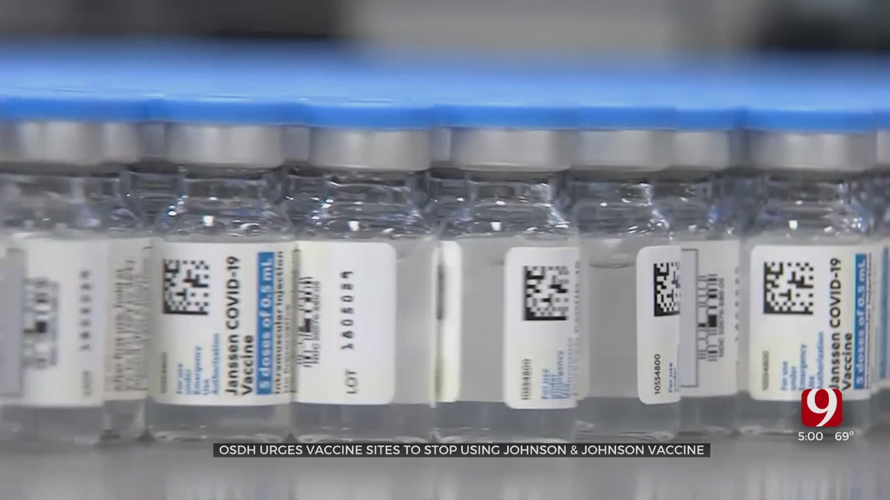 OSDH Officials Reacts To The Distribution Pause Of Johnson & Johnson COVID Vaccine