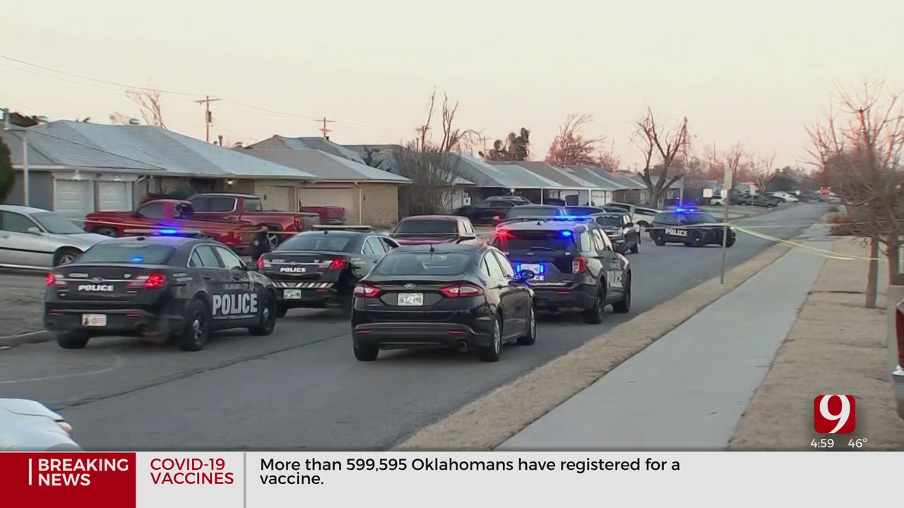 Police Looking For 2 Men After A Man Was Shot In Face During SW OKC Carjacking