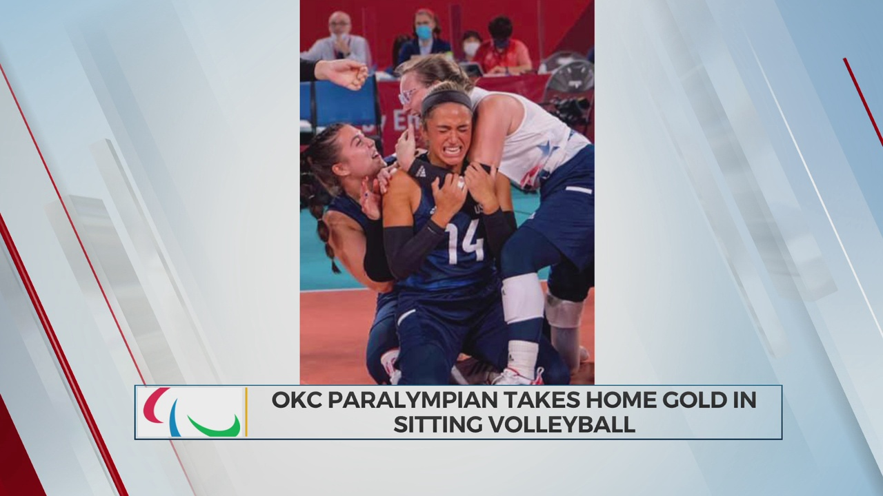 Something Good: OKC Paralympian Takes Home Gold In Sitting Volleyball