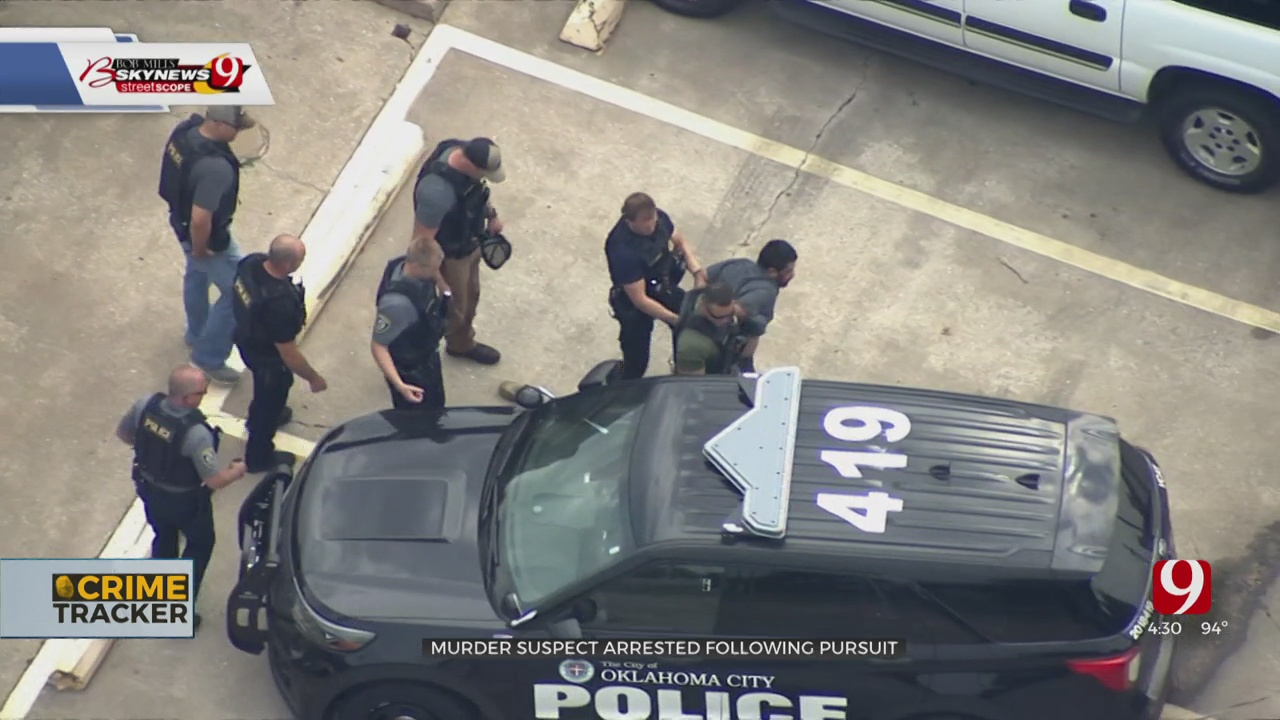 Pursuit Suspect Wanted In Connection To OKC's 50th Homicide Of 2021 Now In Custody