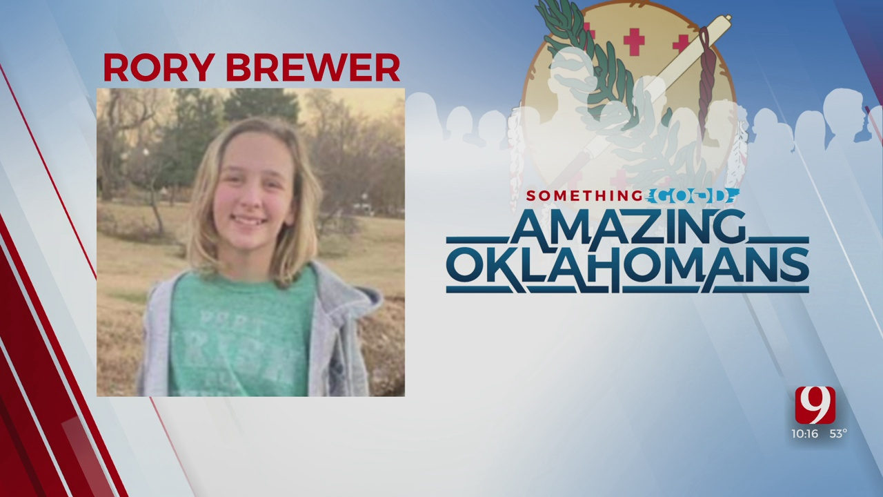 Amazing Oklahoman: 12-Year-Old Rory Brewer