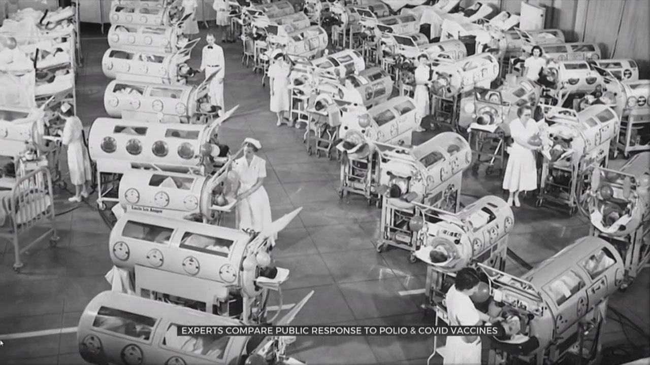 Health Experts Compare The Polio And COVID Vaccines