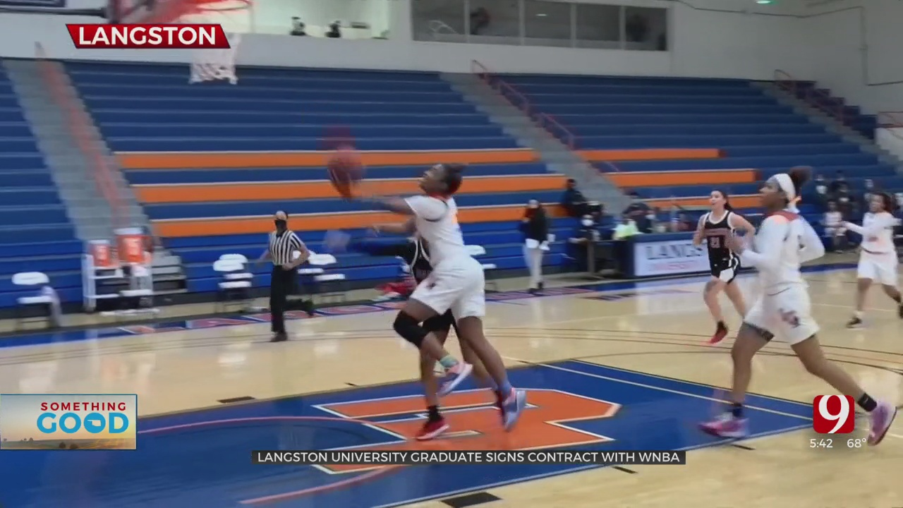 Langston University Student Graduates, Looks Forward To WNBA Career