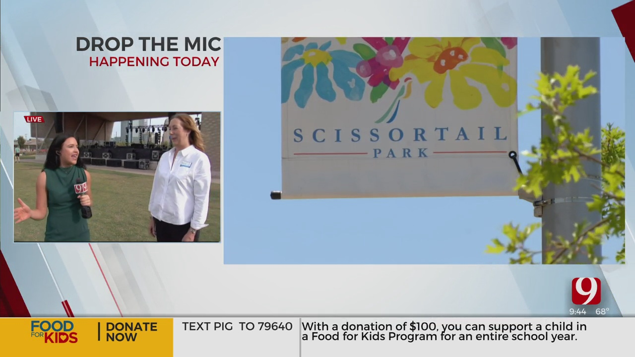 WATCH: Scissortail Park Prepares For 2nd Anniversary Concert, OKC Mayor Holt To 'Drop The Mic'