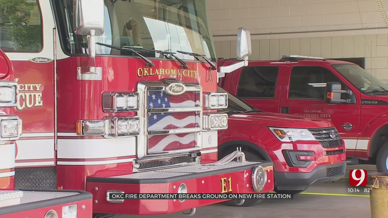 Oklahoma City Fire Department Breaks Ground On New Fire Station In SW OKC