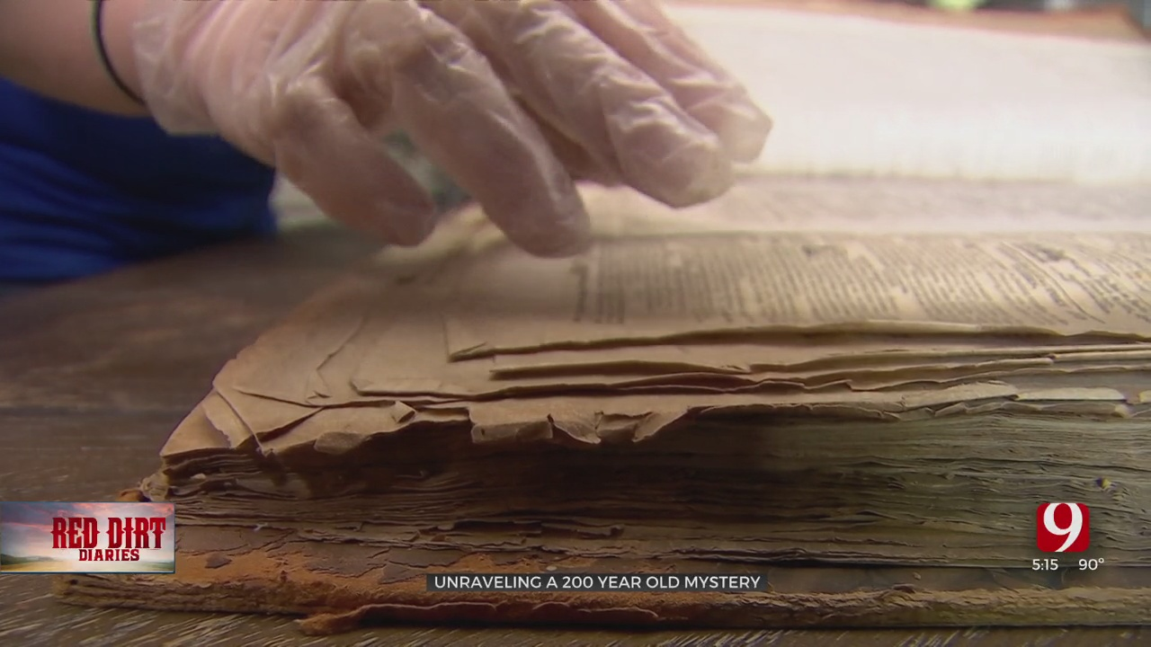 Red Dirt Diaries: OKC Woman Tries To Find Home For 200-Year-Old Newspapers