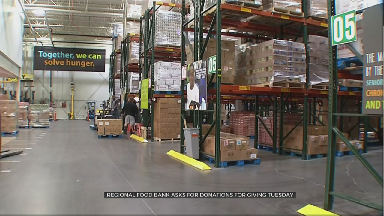 Regional Food Bank Of Oklahoma Takes Part in Giving Tuesday