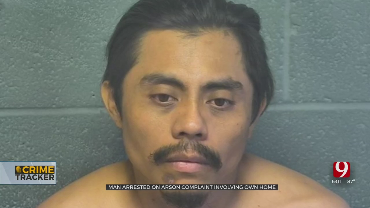 Arson Suspect Admits To Setting His SW OKC Apartment On Fire
