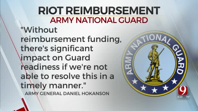 National Guard Seeks Reimbursement From Congress for Capitol protection