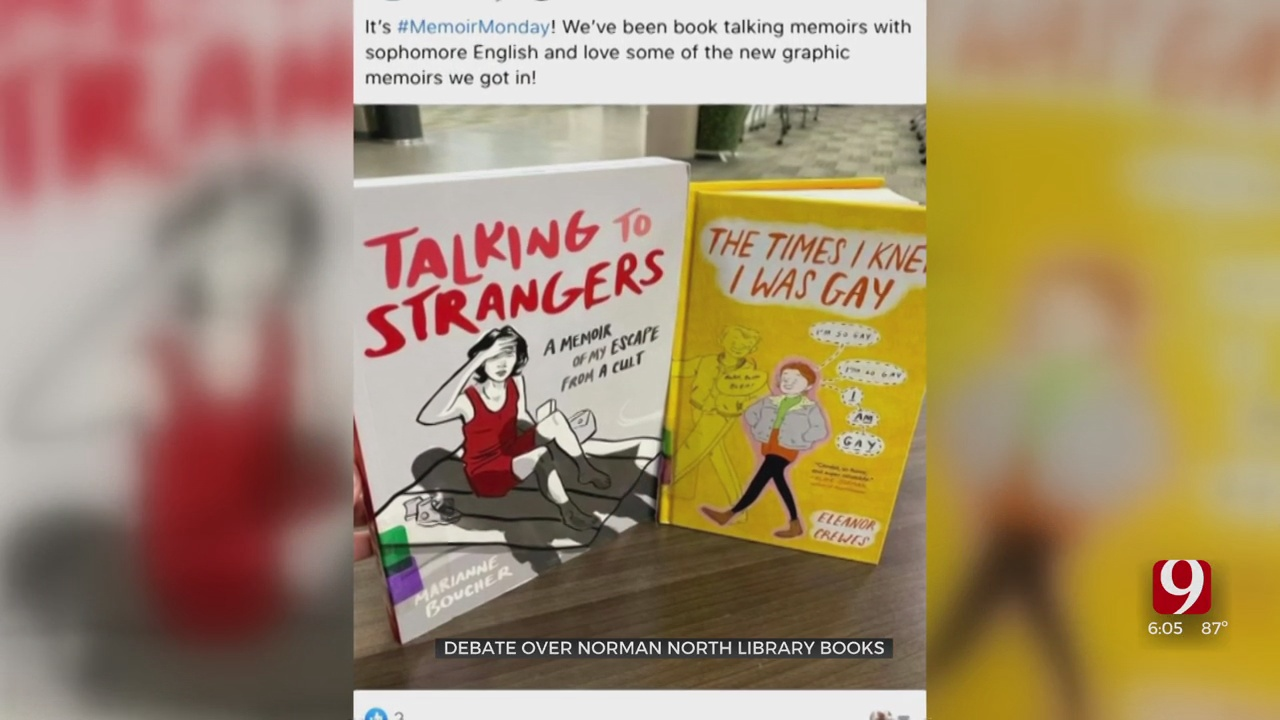 Norman Parents Upset Over Social Media Posts From High School Library