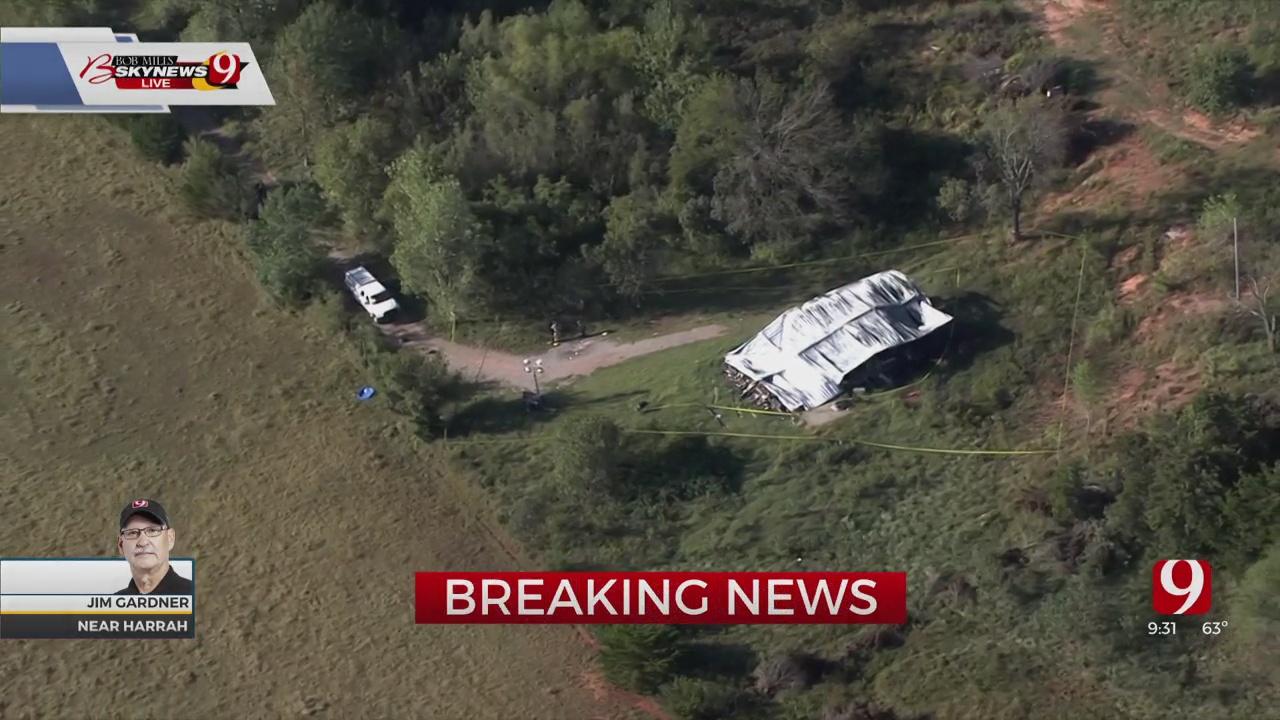 SkyNews 9 Flies Over Arson Investigation