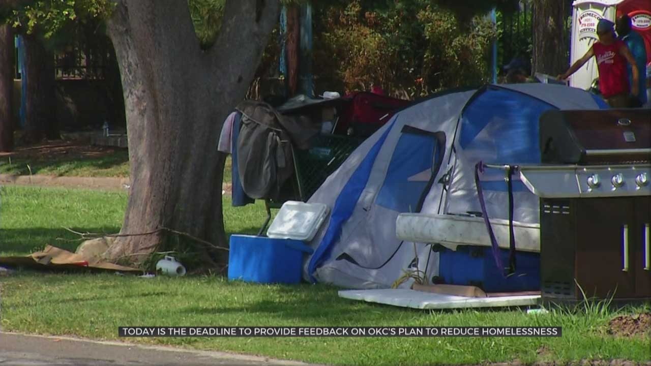 Wednesday Is Last Day For Public Feedback On OKC's Homeless Plan