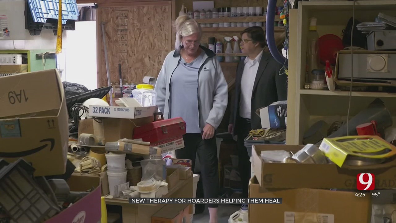 Medical Minute: New Therapy For Hoarders Helping Them Heal
