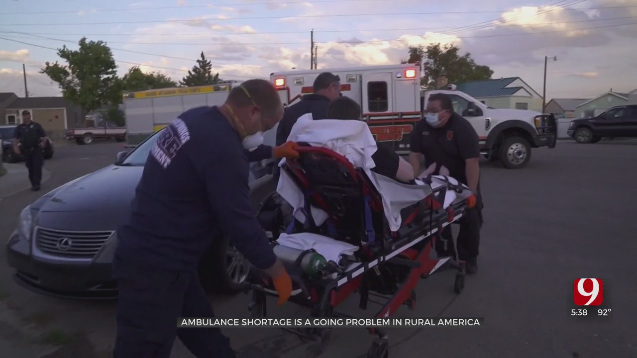 Ambulance Shortage Becomes Recurring Problem In Rural America