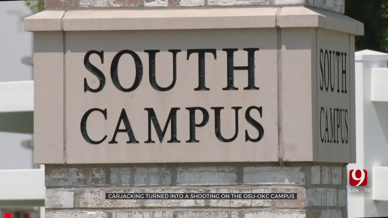 OKC Police Investigate Shooting, Car Theft At OSU-OKC's South Campus