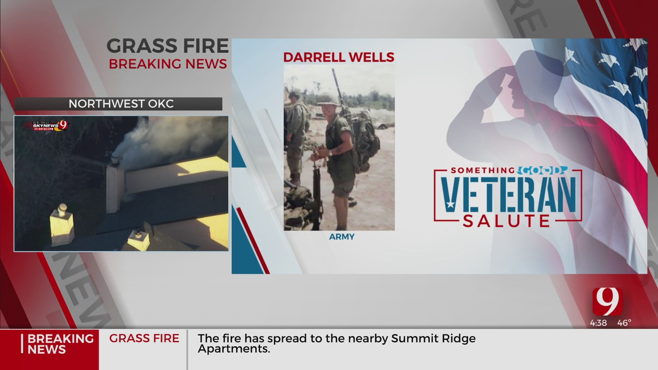 Veteran Salute: Darrell Wells