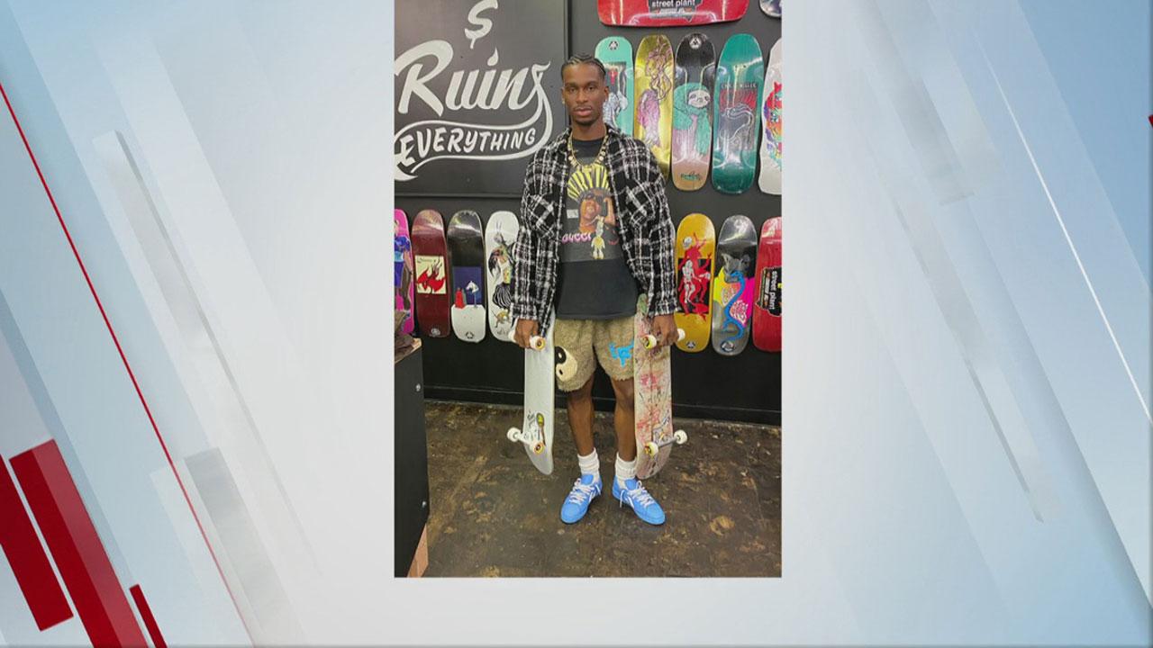 OKC Thunder Star Stops By Skate Shop Grand Opening