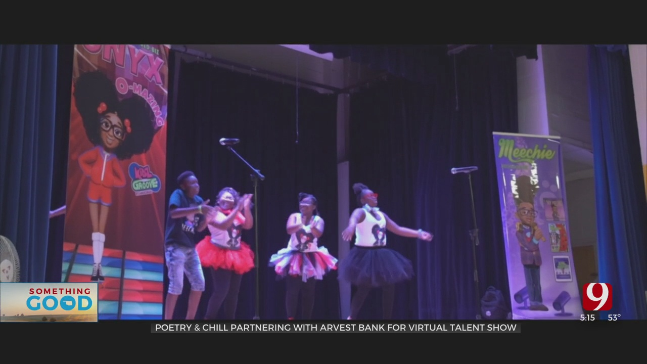 Poetry & Chill Partnering With Arvest Bank For Virtual Talent Show