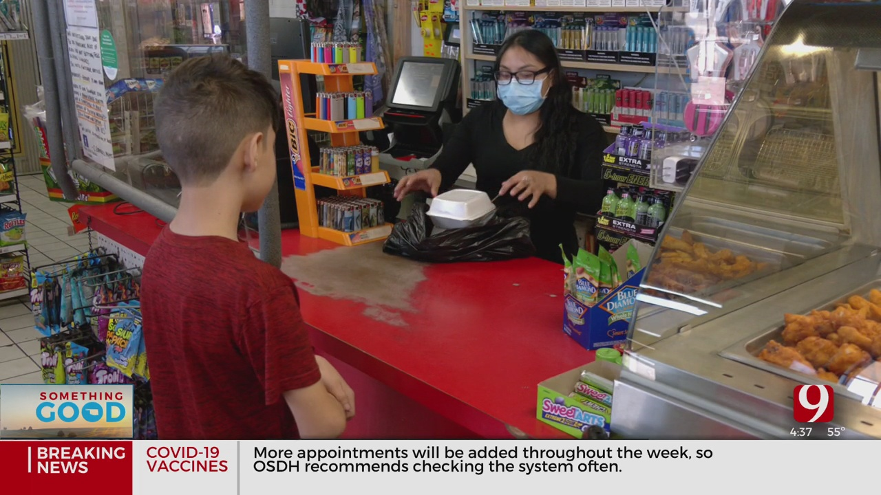 Local Gas Station Offers To Provide Free Food For Kids During Pandemic