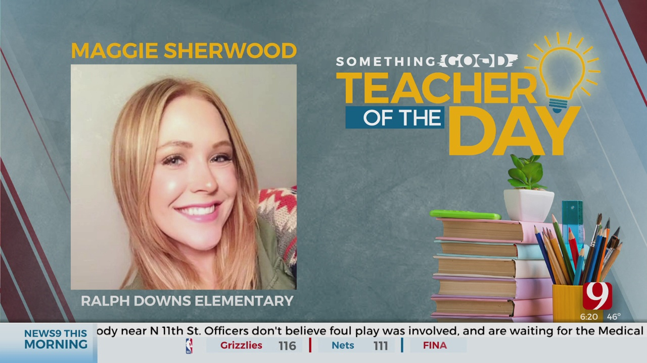 Teacher Of The Day: Maggie Sherwood