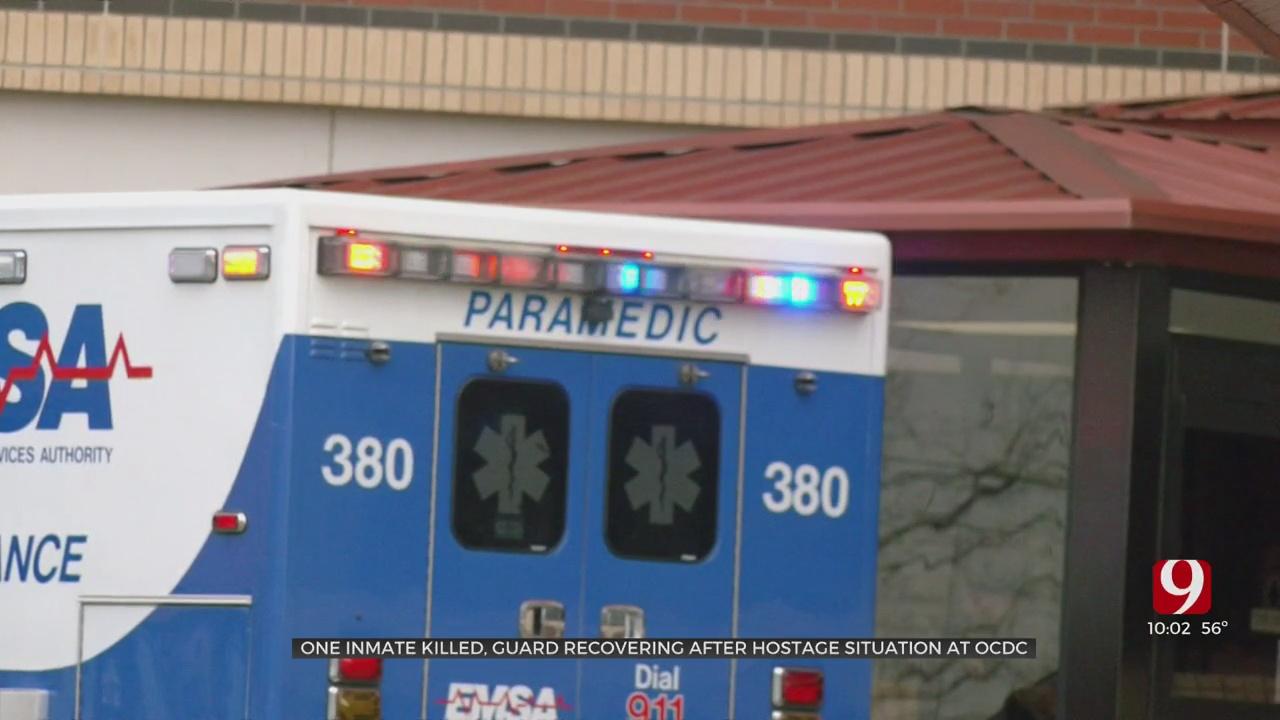 Correction Officer Taken Hostage Rescued Inside Oklahoma County Detention Center