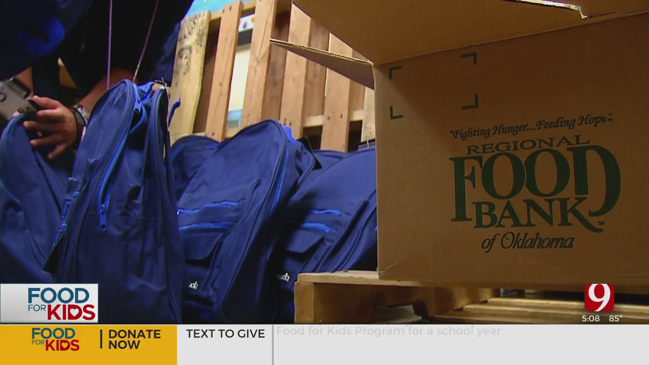 Food For Kids Backpack Program Helps Feed Oklahoma Kids All Year Long