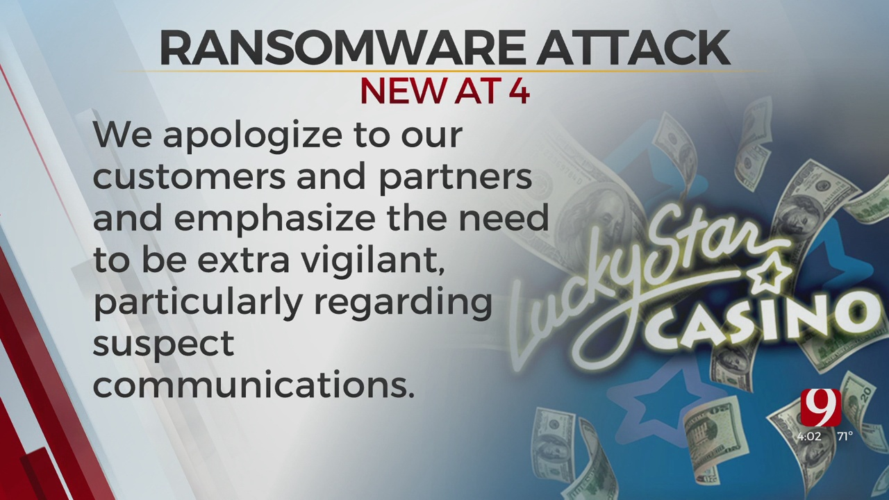 Lucky Star Casinos Confirmed It Suffered Ransomware Attack