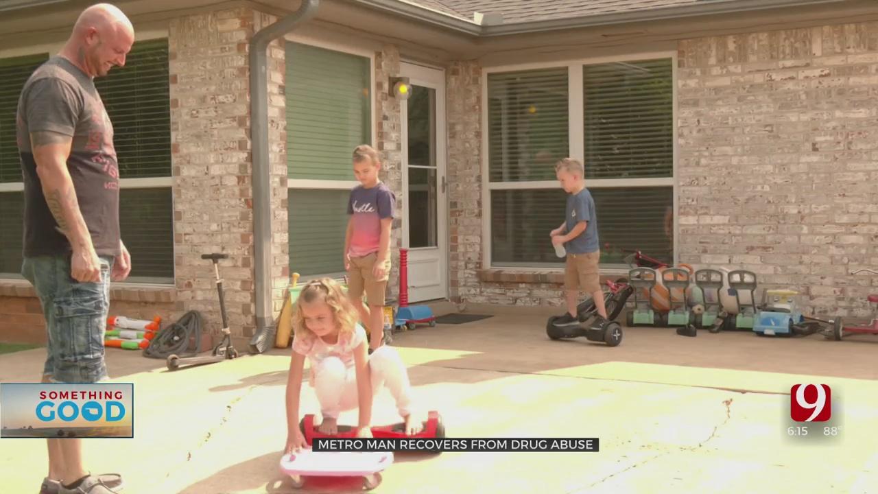 Single Father Overcomes Drug Addiction To Win Back Custody Of His Children