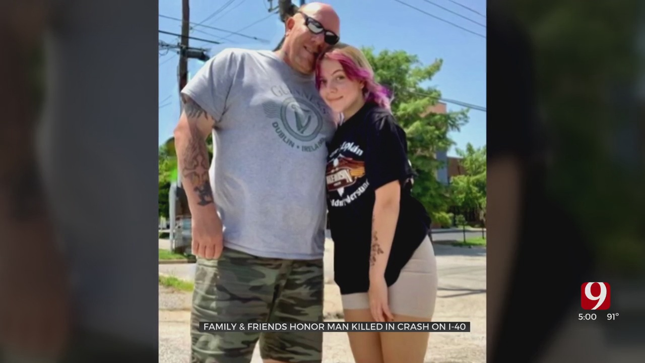 Friends, Family Remember Single Father Killed In I-40 Crash, Raise Money For His Teen Daughter