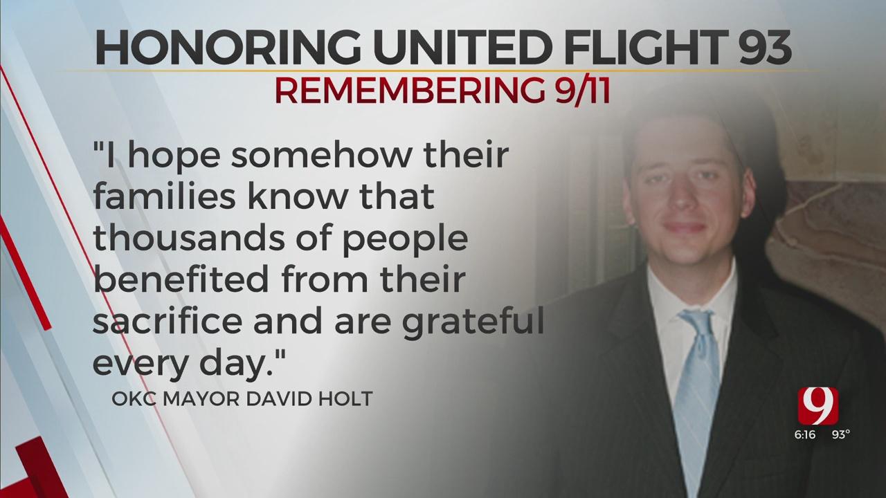 Mayor Holt Honors United Flight 93 Passengers