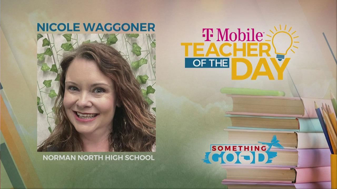 Teacher Of The Day: Nicole Waggoner