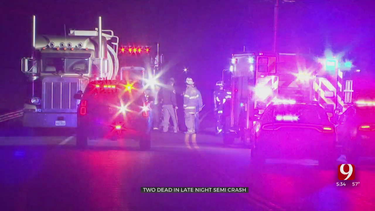 2 Dead After Vehicle Collides With Semi In Logan County