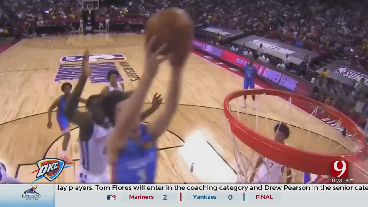 Thunder Faces Cunningham In Summer League Opener