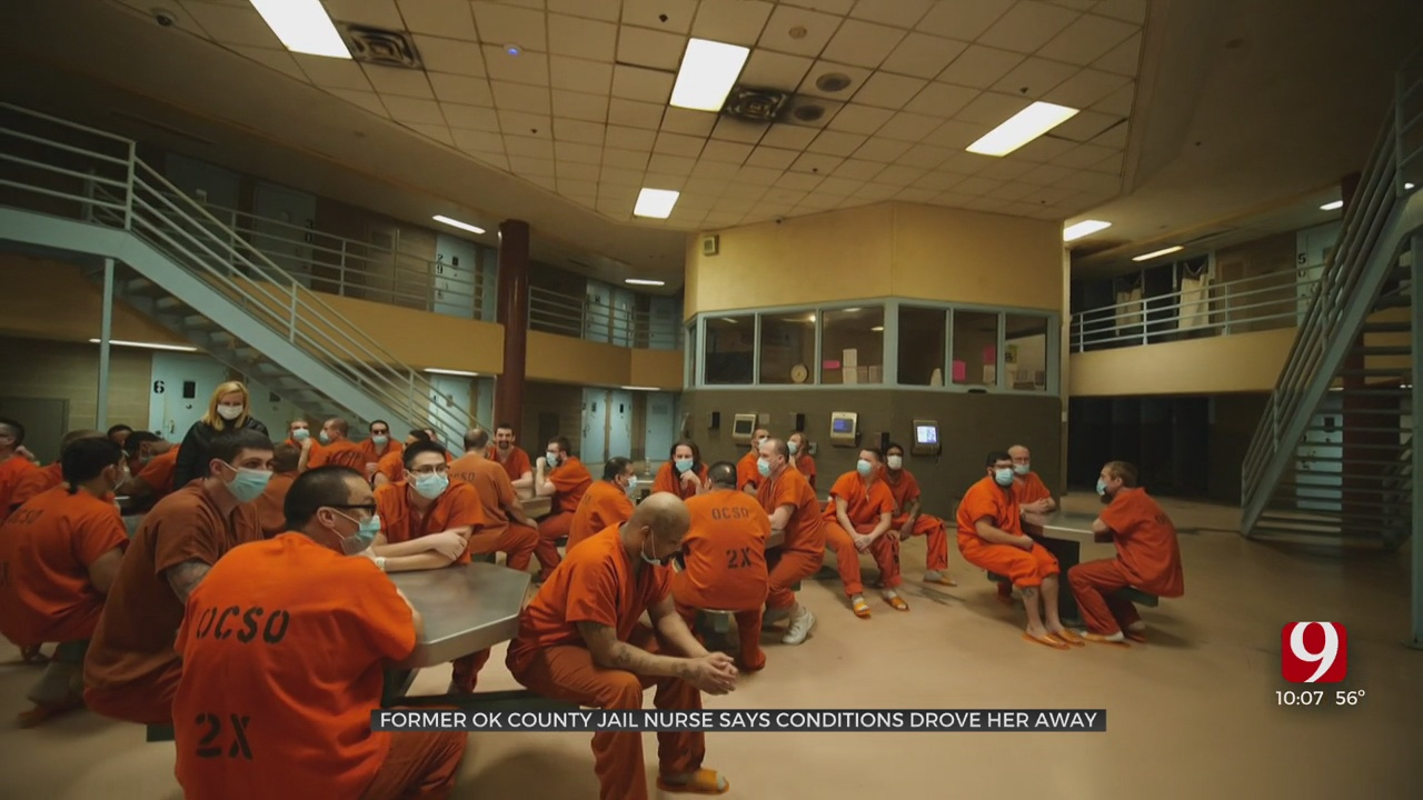 Former Oklahoma County Jail Nurse Says Poor Conditions Led To Her Exit