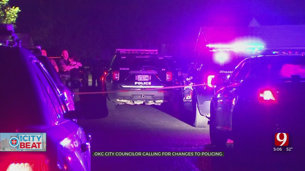 OKC City Councilman Calls For Changes To Community Policing