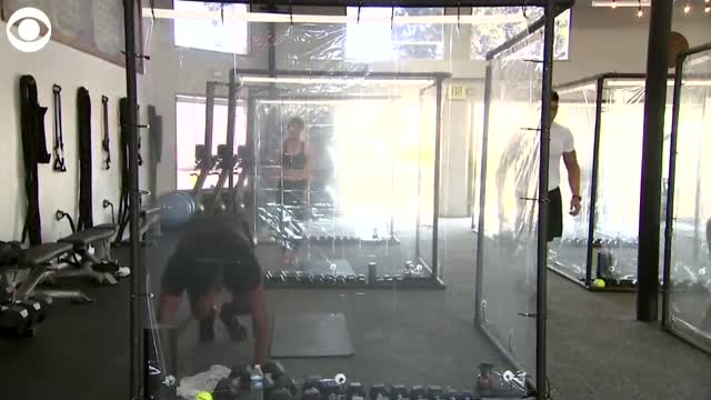 WATCH: Gym Builds Workout Pods For Members