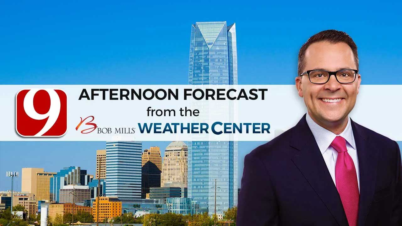 Friday Afternoon Forecast