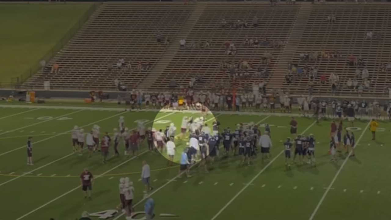 Clinton, El Reno Schools Release Joint Statement After Video Of Fight At Football Scrimmage Circulates