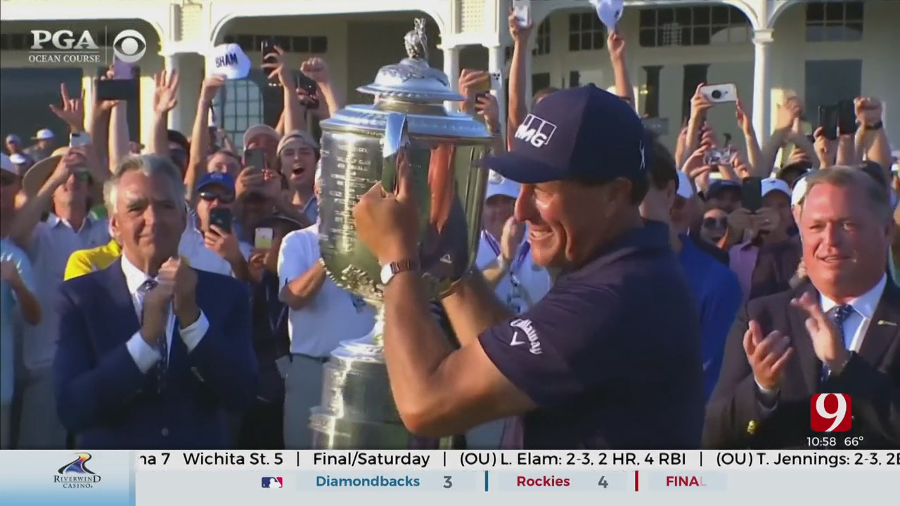 Phil Mickelson Wins The PGA Championship