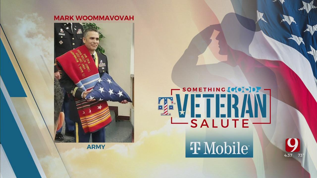 Veteran Salute: Mark Woommavovah