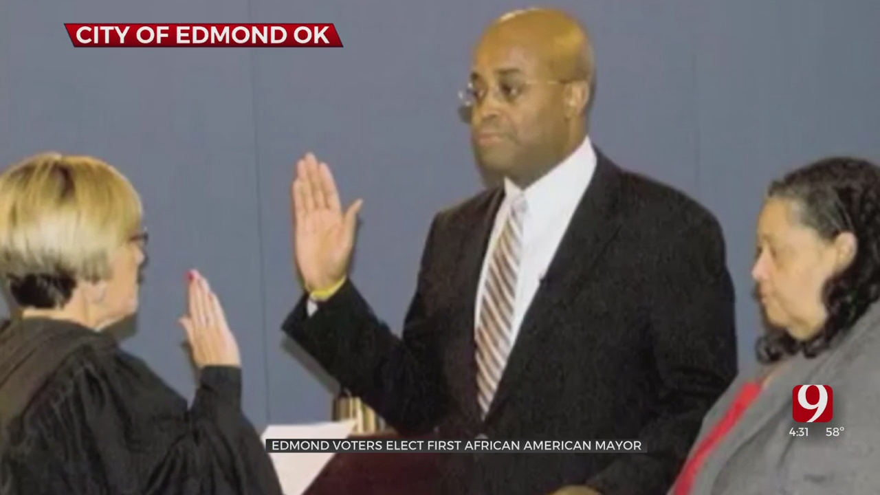 City Councilor Elected 1st Black Mayor Of Edmond