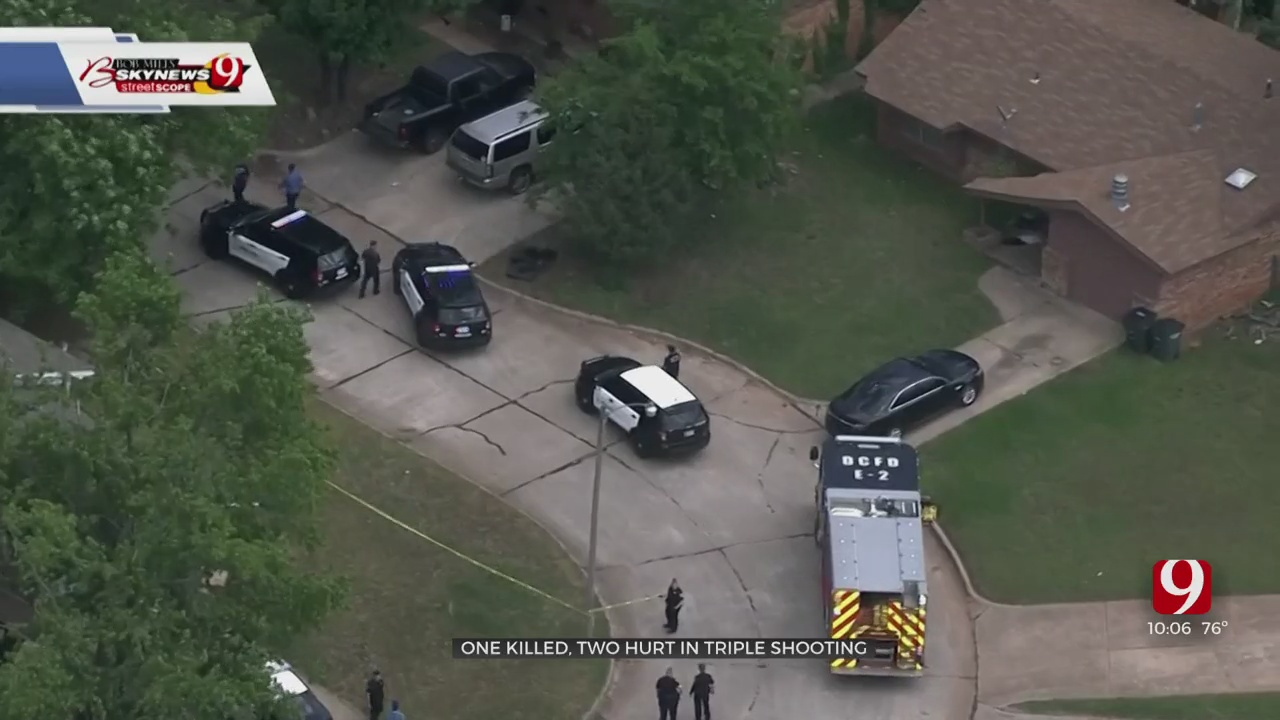Police Search For Suspect In Deadly Triple Shooting