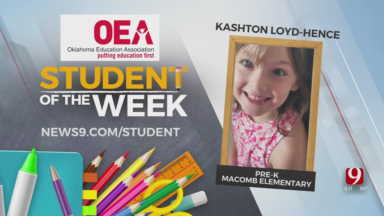 Student Of The Week: Kashton Loyd-Hence