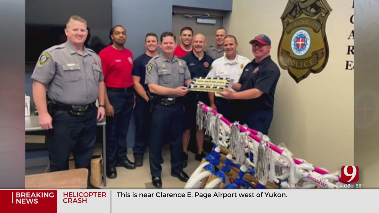 OKC Police Accused Of Accidentally Eating Cake Meant For OKC Firefighters