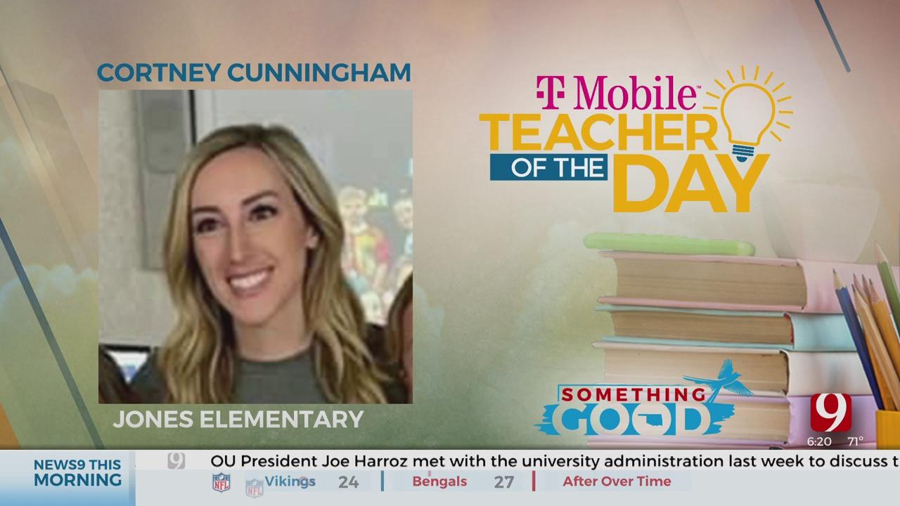 Teacher Of The Day: Cortney Cunningham