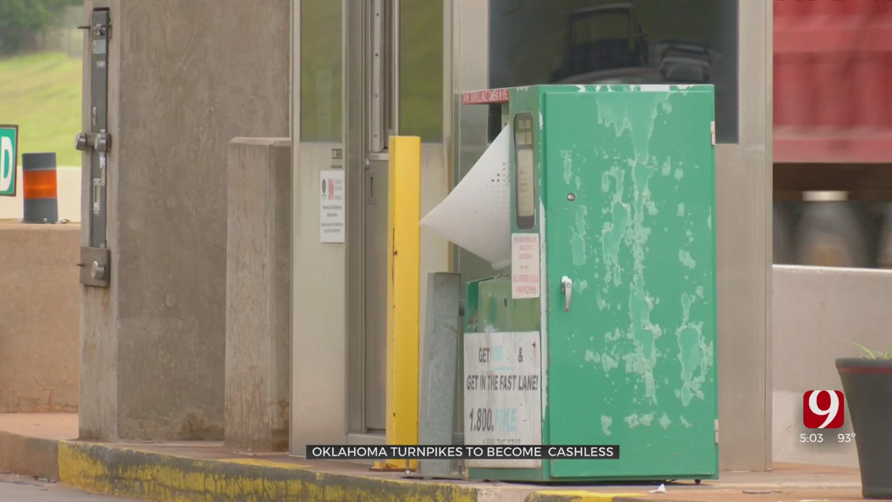 Oklahoma Turnpikes Pumping Breaks On Stopping To Pay Toll, Moving To Cashless System