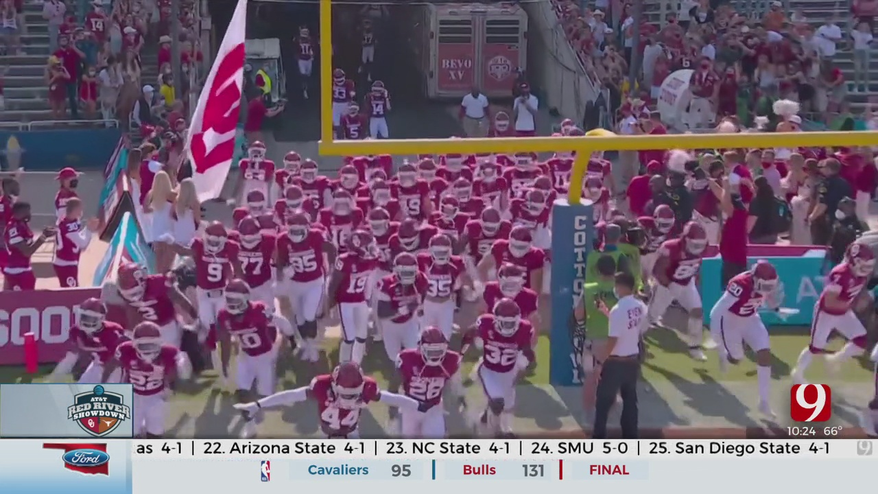 Full Capacity Showdown For OU-Texas At The Cotton Bowl
